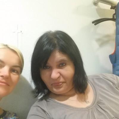 Ich mit Henrieta beim Arzt